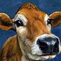 Sweet Jersey Cow by Dottie Dracos