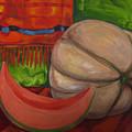 Sweet Juicy Cantalope by Robin Cordero