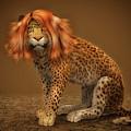 Sweet Lady Leopard by Jutta Maria Pusl