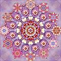 Sweet Pea Iris Frivolity by Karen Hochman Brown