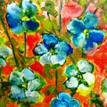 Sweet Peas From Japan by Patricia Taylor