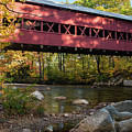 Swift River Covered Bridge by Tim Kathka