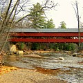 Swift River Covered Bridge by Wayne Toutaint