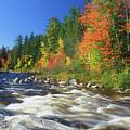 Swift River White Mountains by John Burk