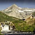 Swiftcurrent Falls Glacier Park 1 by Timothy Hacker
