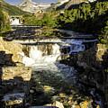 Swiftcurrent Falls Glacier Park 4 by Timothy Hacker