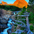 Swiftcurrent Falls by Greg Norrell