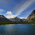 Swiftcurrent Lake - Glacier Np by Shari Jardina