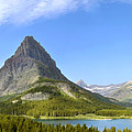 Swiftcurrent Lake And Valley by Gregory Dimijian MD