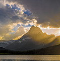 Swiftcurrent Lake Sundown Glacier N P by Steve Gadomski