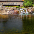 Swiftwater Covered Bridge by Bill Wakeley