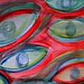 Swimming Eyes by Margie  Byrne
