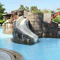 Swimming Pool With Slide For Children by Goce Risteski