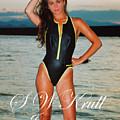 Swimsuit Girl Ad by Steve Krull