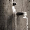 Jar And Bottle  by Sandra Church