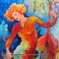 Swinging At Club 135 by Susanne Clark