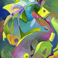 Swirling Fish by Sally Trace