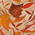 Swirling Leaves by Susan Rinehart