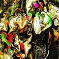 Swirling Socks by Ron Bissett