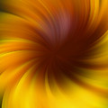 Swirling Yellow And Brown by Smilin Eyes  Treasures