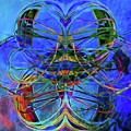 Swirls Abstract by Alice Gipson