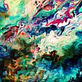 Swirls Of Paint Xii by Tina Baxter