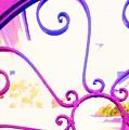 Swirls On A Gate by Donna Bentley