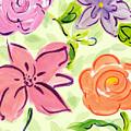 Swirly Flowers by Debbie Haviland