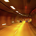 Swiss Alpine Tunnel by KG Thienemann