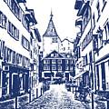 Swiss Street by Lali Kacharava