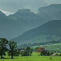 Switzerland Countryside by Deborah Hughes
