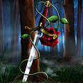 Sword And Rose by Alessandro Della Pietra