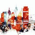 Sydney Cityscape by Dim Dom
