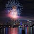 Sydney Fireworks by Matteo Colombo