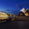 Sydney Opera House At Night by Saiid El Ghazal