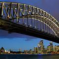 Sydney Harbor Bridge by Dana Edmunds - Printscapes