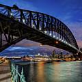 Sydney Harbor Bridge by John Williams