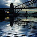Sydney Harbour Bridge Reflection by Sheila Smart Fine Art Photography