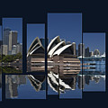Sydney Harbour Collage by Sheila Smart Fine Art Photography