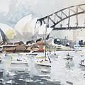 Sydney Opera  by Tony Belobrajdic
