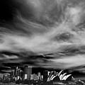 Sydney Skyline With Dramatic Sky by Sheila Smart Fine Art Photography