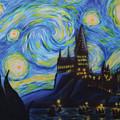 Syfy- Starry Night In Hogwarts by Shawn Palek