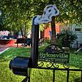 Sykesville Main St Sign by Mark Dodd