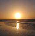 Sylt Sunset 6 by Heidi Sieber