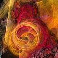 Symbiosis Abstract Art by Karin Kuhlmann