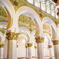 Synagogue Of St Mary The White II by Joan Carroll