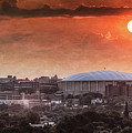 Syracuse Sunrise Over The Dome by Everet Regal