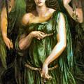 Syrian Astarte 1877 by Dante Gabriel Rossetti Joy of Life Old Masters Gallery