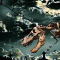 T-rex Graveyard by Kim Souza