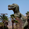 T-rex In Cabazon 2 by Colleen Cornelius